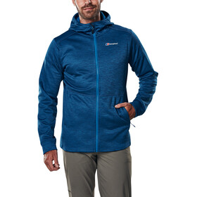 Berghaus Kamloops Hooded Fleece Jacket Men Dark Snorkel Blue Marl